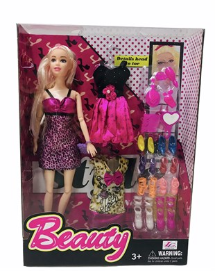 Barbie Beauty Barbie Bebek